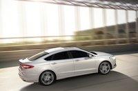 2013 Ford Fusion, Back quarter view., exterior, manufacturer