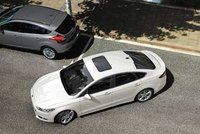 2013 Ford Fusion, Aerial View. , exterior, manufacturer, gallery_worthy