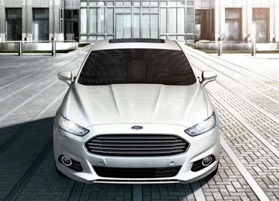 2013 Ford Fusion, Front View. , exterior, manufacturer