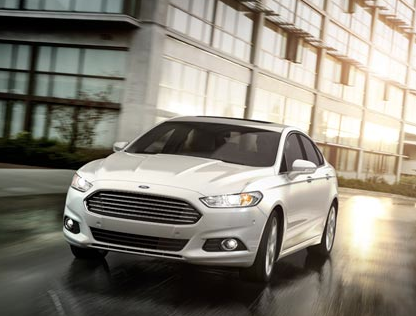 2013 Ford Fusion, Front View., exterior, manufacturer