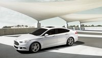 2013 Ford Fusion, Front quarter view. , exterior, manufacturer
