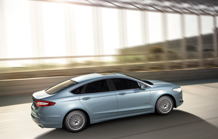 2013 Ford Fusion, Back quarter view. , exterior, manufacturer