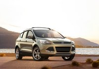 2013 Ford Escape, Front quarter view. , exterior, manufacturer