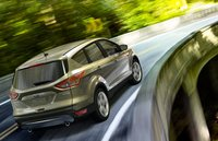2013 Ford Escape, Back quarter view. , exterior, manufacturer