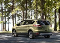 2013 Ford Escape, Back quarter view. , manufacturer, exterior