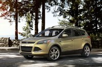 2013 Ford Escape, Front quarter view. , exterior, manufacturer, gallery_worthy