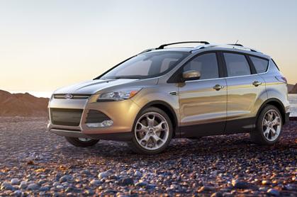 2013 Ford Escape, Front quarter view. , exterior, manufacturer