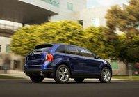 2013 Ford Edge, Back quarter view. , exterior, manufacturer