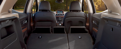 2013 Buick Encore, Back Seat. , manufacturer, interior