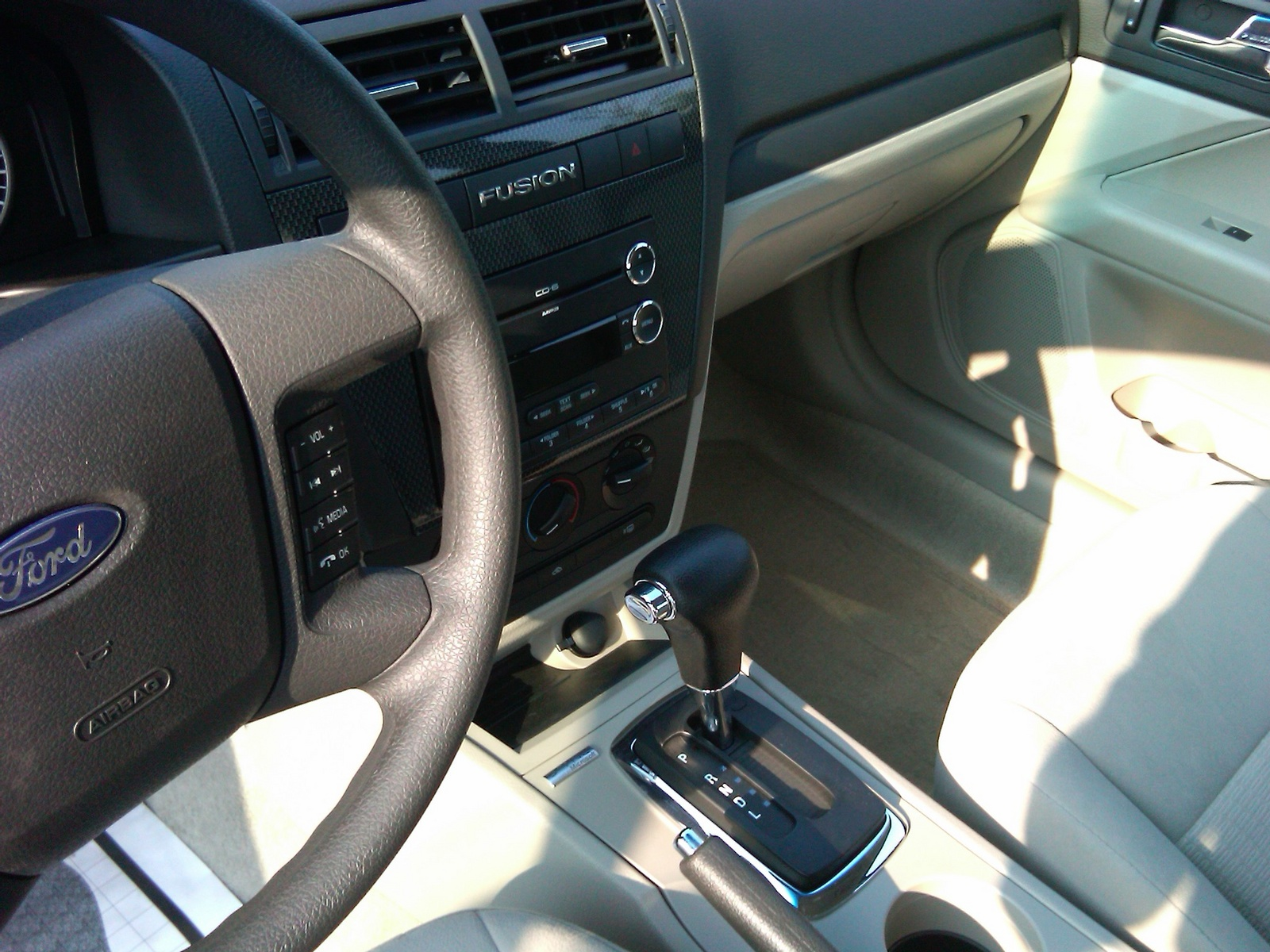 2009 Ford Fusion Interior Dimensions