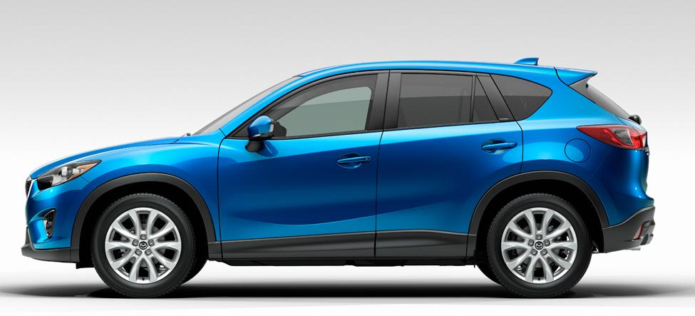 2013 Mazda CX-5, Side View, exterior, manufacturer
