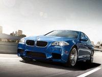 2012 BMW M5, exterior front left quarter view, exterior, manufacturer