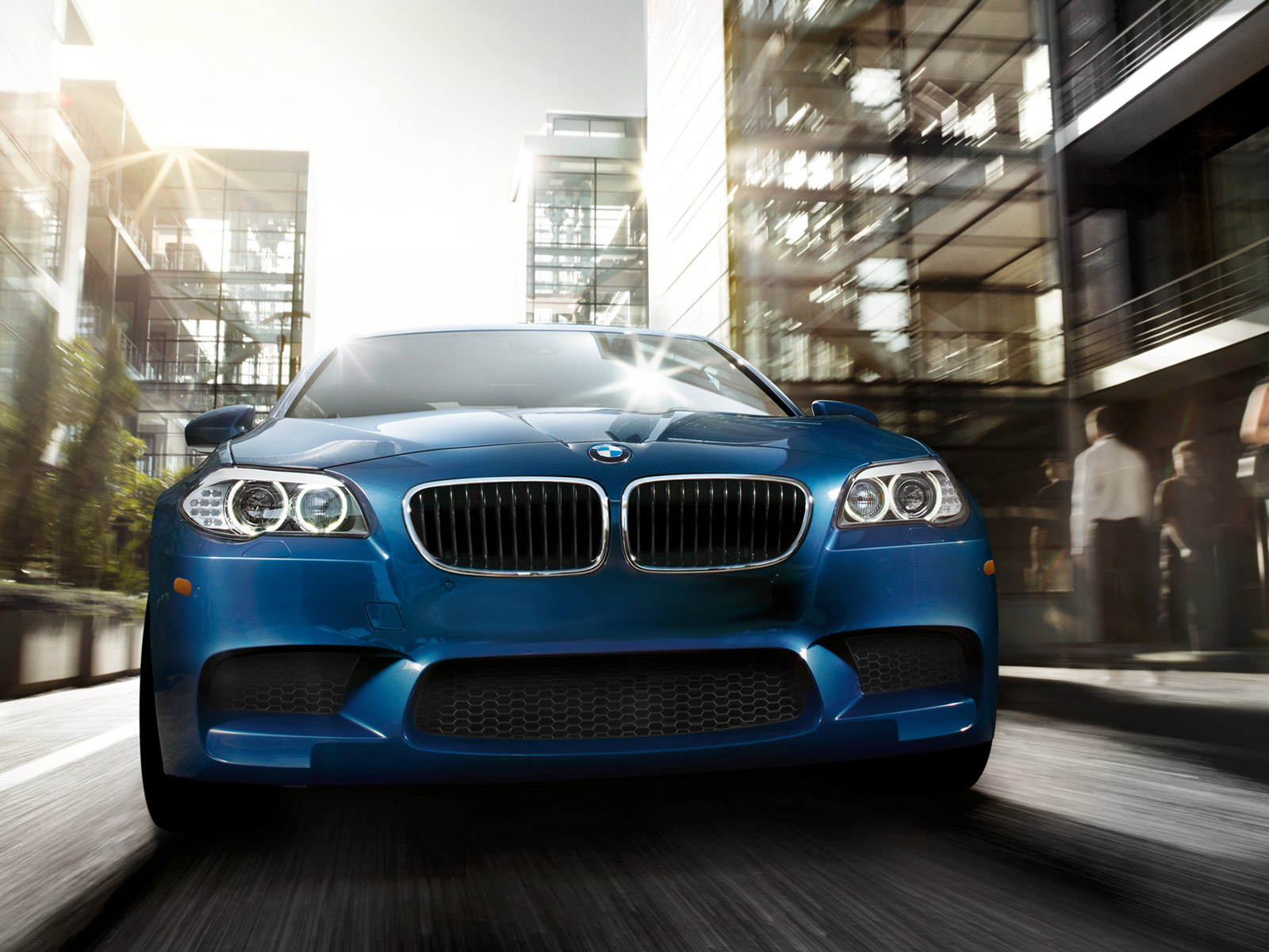 2012 BMW M5, exterior front full view, exterior, manufacturer