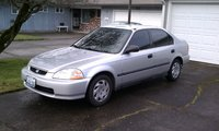 1996 Honda Civic DX, 1996 Honda Civic 4 Dr DX Sedan picture, exterior