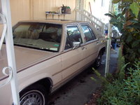 1986 Mercury Grand Marquis Overview