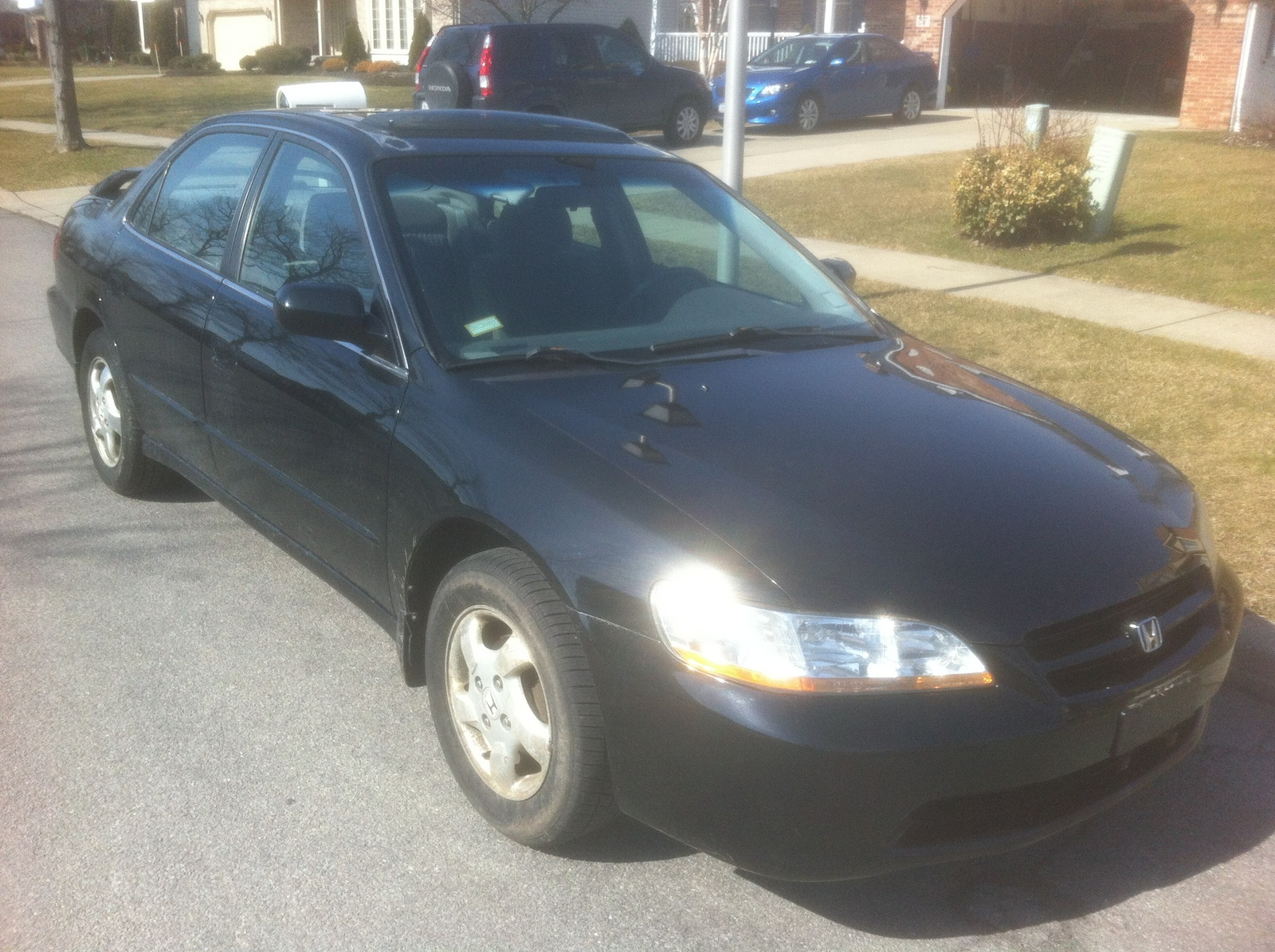 1998 Honda Accord EX, Picture of 1998 Honda Accord 4 Dr EX Sedan, exterior