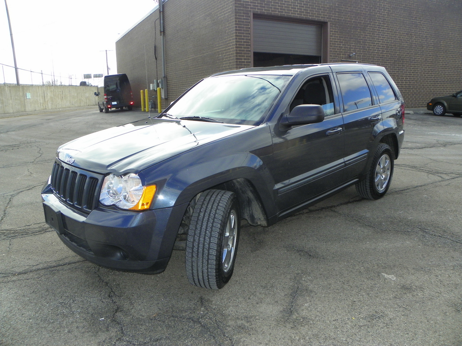 picture of 2008 jeep grand cherokee overland 4wd exterior. Cars Review. Best American Auto & Cars Review
