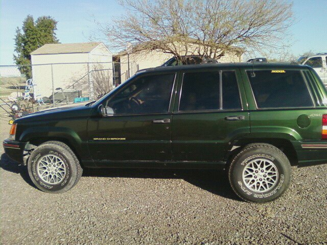 picture of 1995 jeep grand cherokee orvis 4wd exterior. Cars Review. Best American Auto & Cars Review