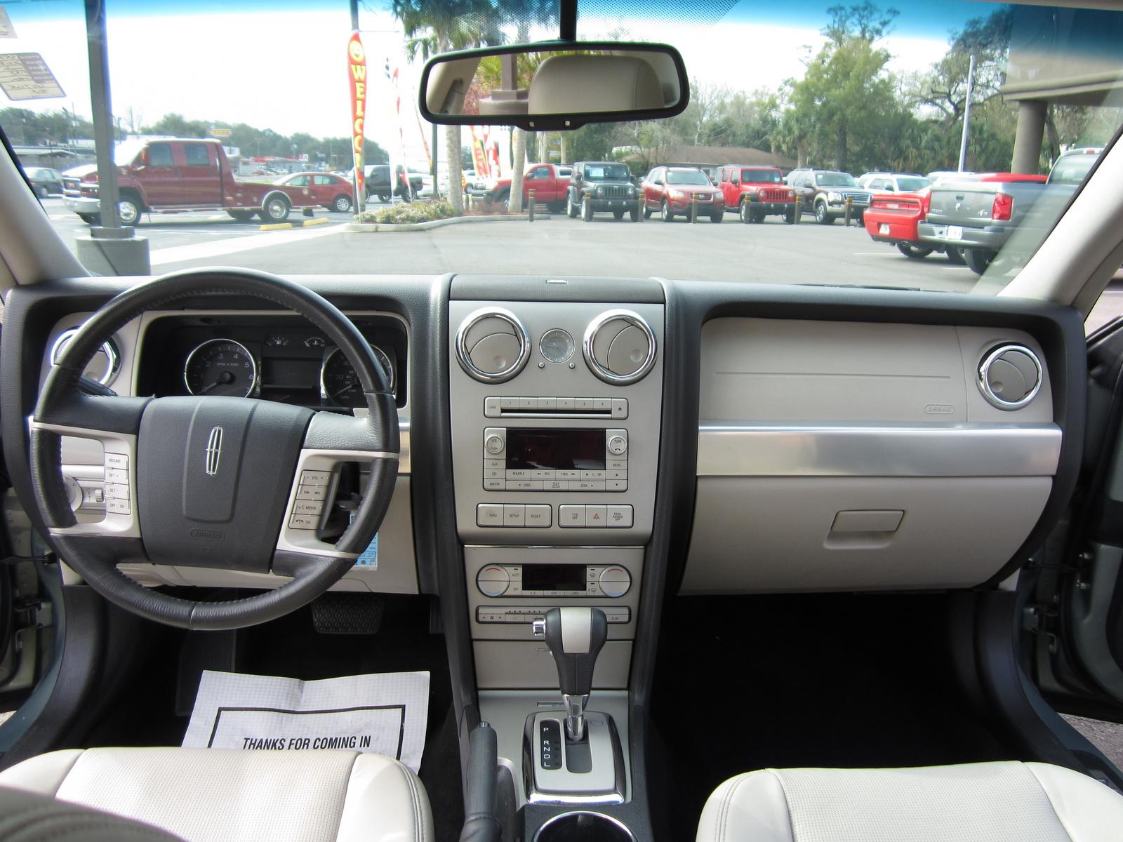 2008 Lincoln Mkz Interior
