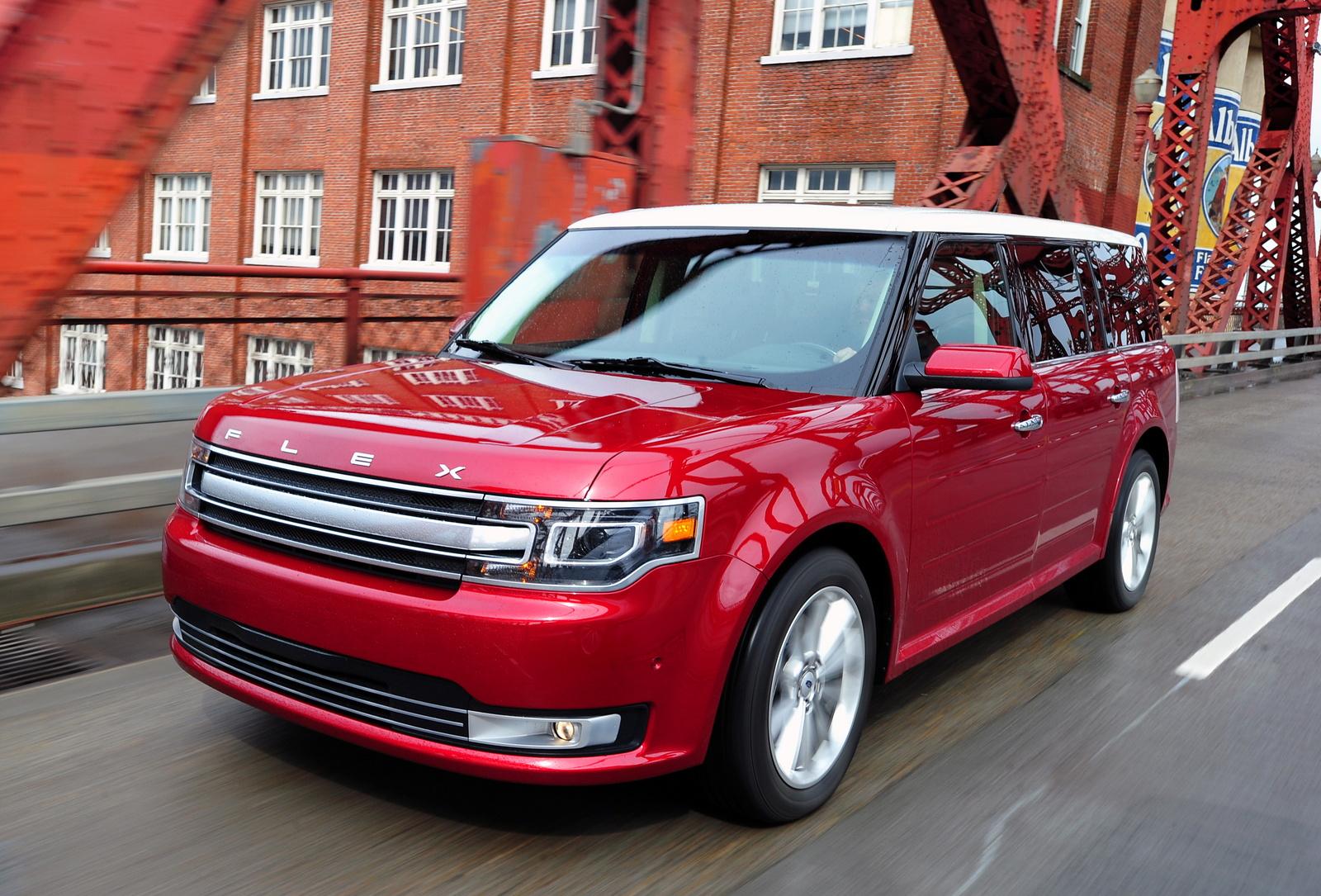 2013 Ford Flex, Front-quarter view, exterior, manufacturer