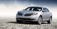 2013 Lincoln MKS, Front-quarter view, exterior, manufacturer, gallery_worthy
