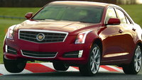 2013 Cadillac ATS, Front-quarter view. Copyright General Motors., exterior, manufacturer