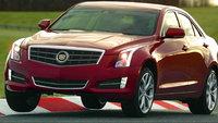2013 Cadillac ATS, Front-quarter view. Copyright General Motors., exterior, manufacturer
