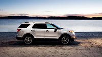 2013 Ford Explorer, exterior full side view, exterior, manufacturer