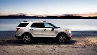 2013 Ford Explorer, exterior full side view, exterior, manufacturer