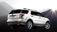2013 Ford Explorer, exterior rear right quarter view, exterior, manufacturer