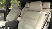 2013 Ford Explorer, interior rear and third row seating, interior, manufacturer