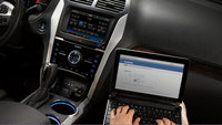2013 Ford Explorer, interior front controls, interior, manufacturer