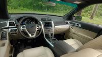 2013 Ford Explorer, interior front seating, interior, manufacturer