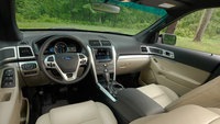 2013 Ford Explorer, interior front seating, interior, manufacturer