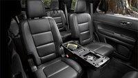 2013 Ford Explorer, interior second row seating, interior, manufacturer