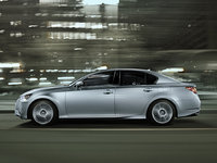2013 Lexus GS 350, exterior full left side view, exterior, manufacturer