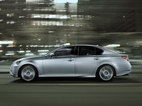 2013 Lexus GS 350, exterior full left side view, manufacturer, exterior
