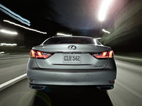 2013 Lexus GS 350, exterior rear full view, manufacturer, exterior
