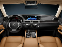 2013 Lexus GS 350, interior front full view, interior, manufacturer