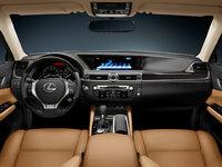 2013 Lexus GS 350, interior front full view, interior, manufacturer