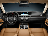 2013 Lexus GS 350, interior front full view, manufacturer, interior