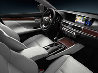 2013 Lexus GS 350, interior front drivers side, interior, manufacturer