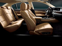 2013 Lexus GS 350, interior front and rear full view, interior, manufacturer