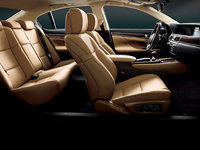 2013 Lexus GS 350, interior front and rear full view, manufacturer, interior