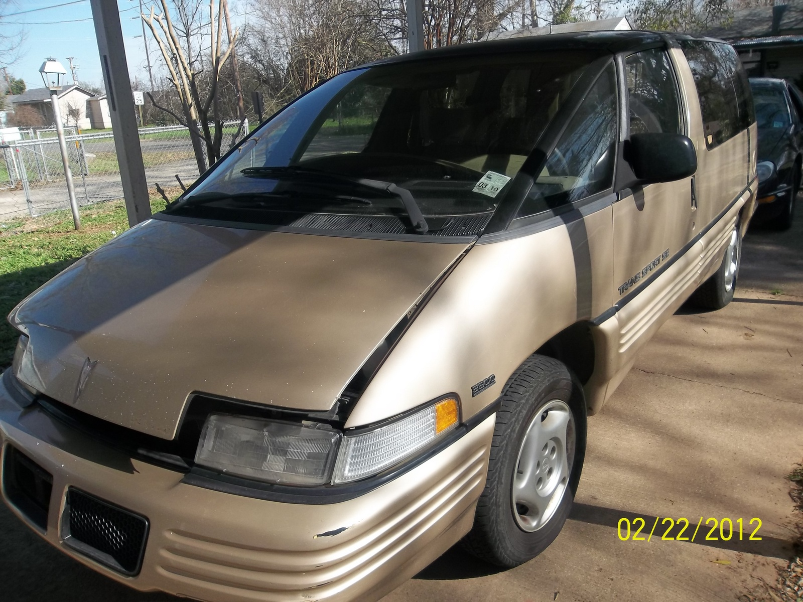 Picture of 1992 Pontiac Trans Sport