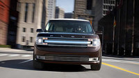 2013 Ford Flex, exterior front full view, manufacturer, exterior