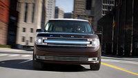 2013 Ford Flex, exterior front full view, exterior, manufacturer