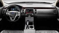 2013 Ford Flex, interior front full view, interior, manufacturer