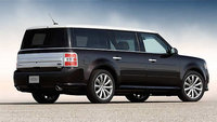 2013 Ford Flex, exterior right rear quarter view, manufacturer, exterior
