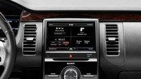 2013 Ford Flex, interior front control panel, interior, manufacturer